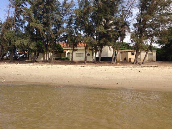 Saint-Louis, Sénégal : Hotel abandonné a cause de la monté des eaux #Gandiole
