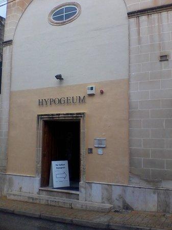 Hypogée de Ħal Saflieni : Unassuming entrance
