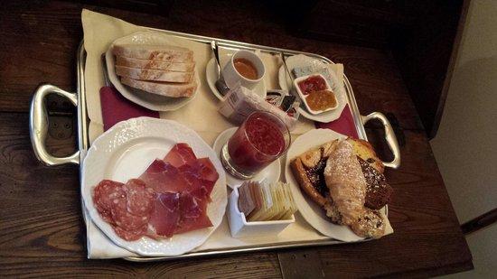 Ripa Relais : La nostra colazione in camera