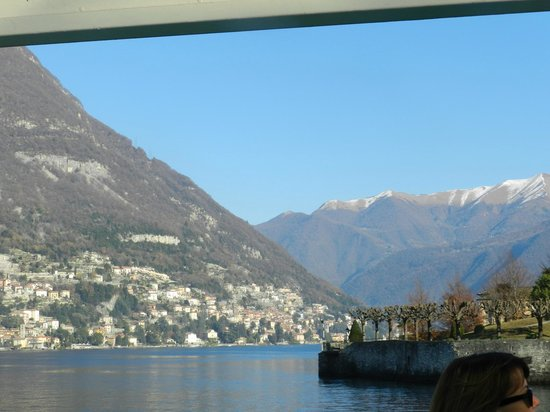 Lake Como: LAGO COMO CON LOS ALPES DE FONDO