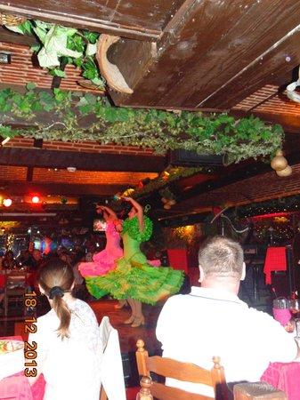 Banana Garden: flamenco dancing