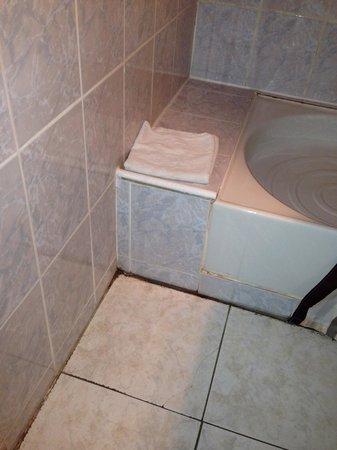 Salle de bain de l'auberge du virage a chamrousse sans commentaire!