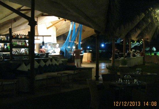 Taj Exotica Goa: Lobster Shack in hotel grounds.