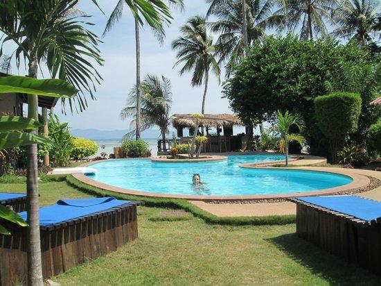 Phangan Beach Resort : Piscine
