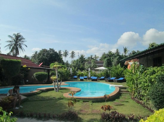 Phangan Beach Resort: Piscine