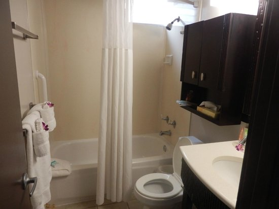 Aqua Bamboo Waikiki : bathroom