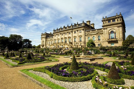 Leeds, UK: Harewood House South Front
