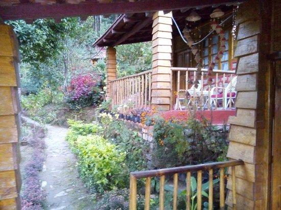 Tathagata Farm: Hut