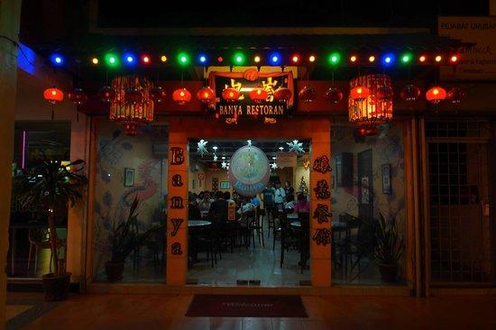Fenix Inn: Banya Restaurant serving Peranakan food