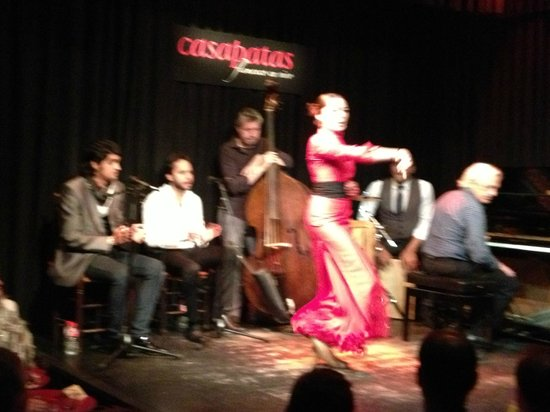Casa Patas: une danseuse envoutante