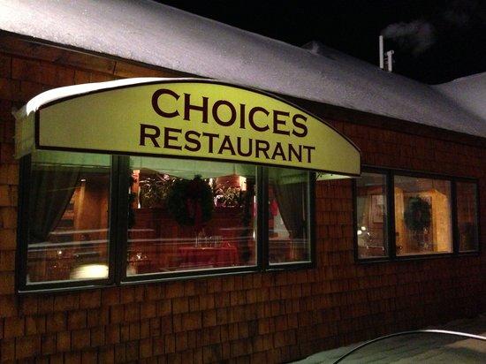 Choices Restaurant & Rotisserie: Coices