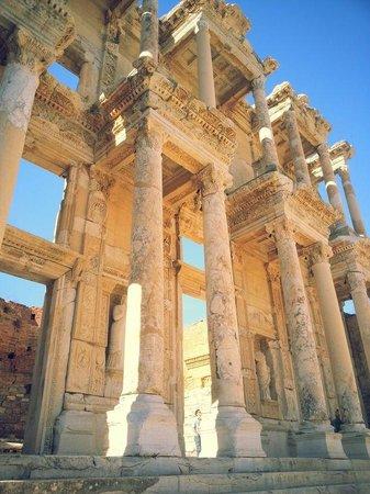 Ruinen von Ephesos: Library