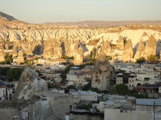 Kelebek Special Cave Hotel: View over Goreme