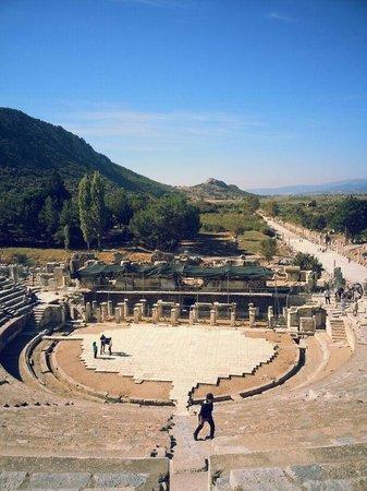 Ruinen von Ephesos: Anfi theatre
