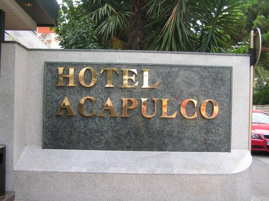 Hotel Acapulco Lloret de Mar: wejście