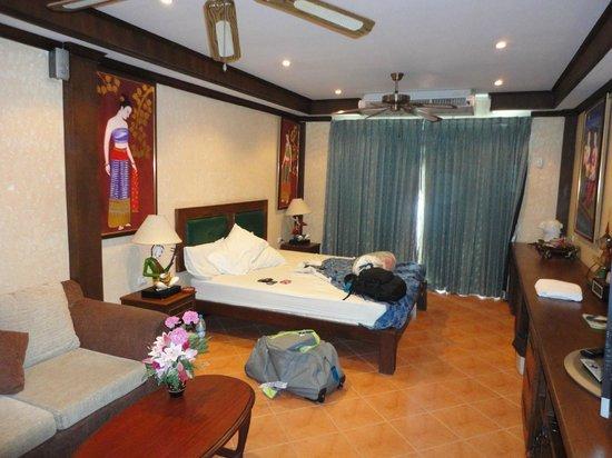 Queen Victoria Inn: penthouse