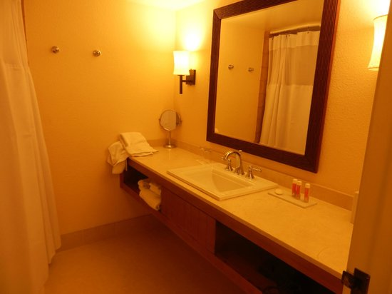 Tropicana Las Vegas - A DoubleTree by Hilton Hotel : bathroom of room 959