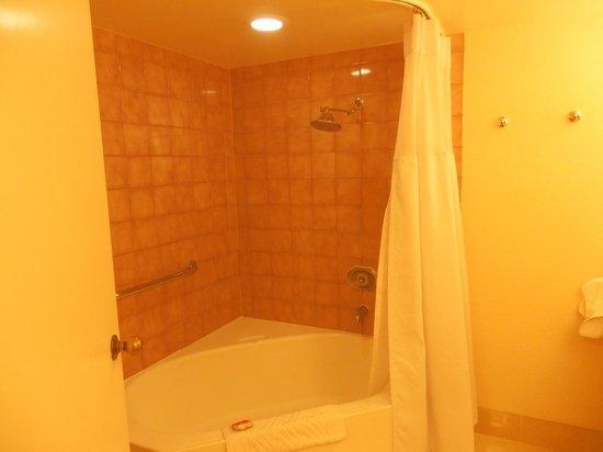 Tropicana Las Vegas - A DoubleTree by Hilton Hotel: corner bath tub
