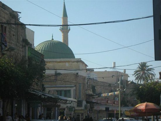 Al-Jazzar Mosque: The Green Dome of the Al Jazzar Mosque