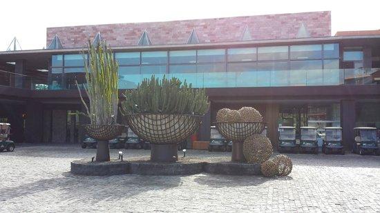 Sheraton Gran Canaria Salobre Golf Resort: the reception area.