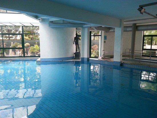 Olympia Terme Hotel : Il percorso kneip