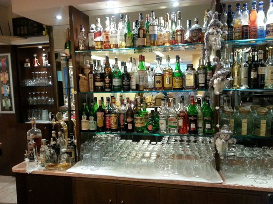 Olympia Terme Hotel : Dal bar...