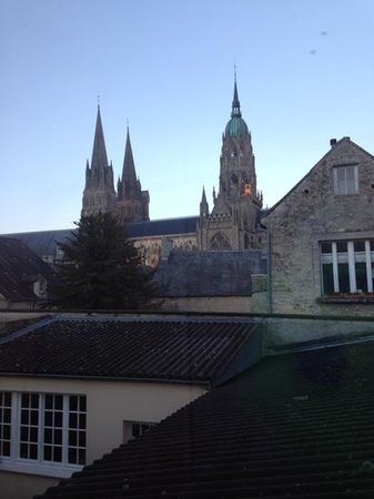La Tour Louise: the view of the Cathedral from our room