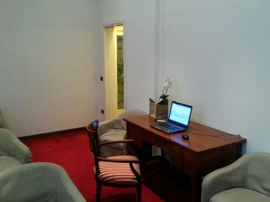 Olympia Terme Hotel : Sala wifi gratuito e lettura!!