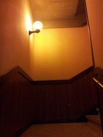Villa delle Rose: scale