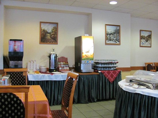 Gerand Hotel Eben: Breakfast
