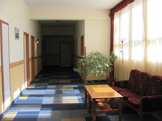 Gerand Hotel Eben: Hall