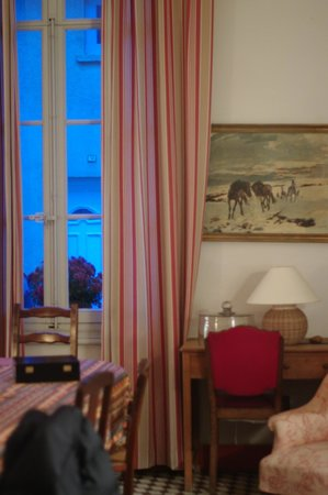 Au Soleil : I loved everything about the dining room