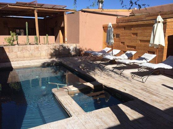 Lodge Andino Terrantai : Terrantai Piscina