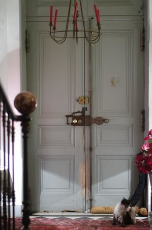 Au Soleil : amazing front door