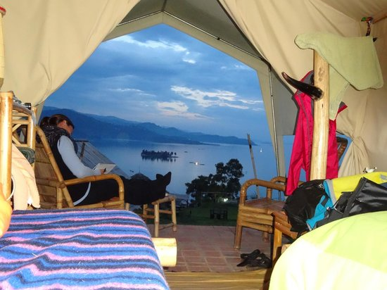 Amazing view from the tent