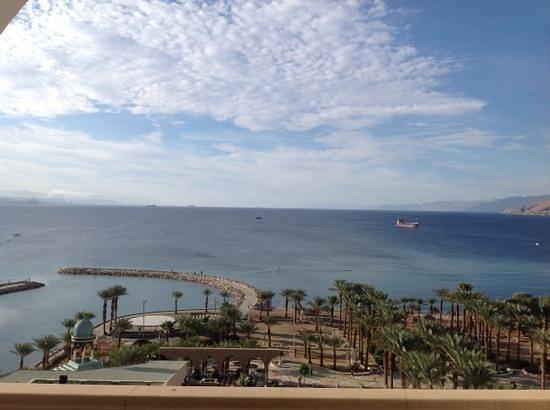 Herods Palace Hotel Eilat: вид с балкона