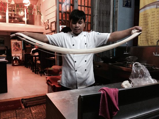 Chilly Noodle House : Noodles made to order