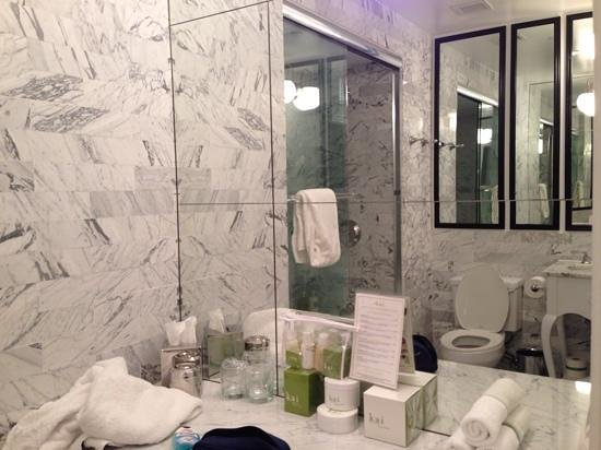 Viceroy Santa Monica : nice and clean bathroom