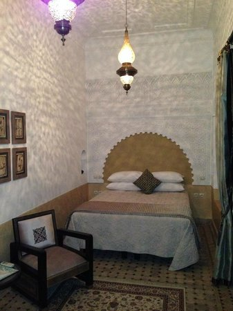 Riad Al-Bushra: The room I stayed in....
