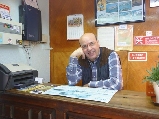 Residencia LIS B&B and Parking: Agostinho, King of Hospitality