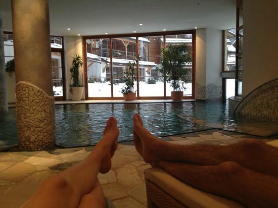 Post Alpina - Family Mountain Chalets: piscina interna / zona wellness