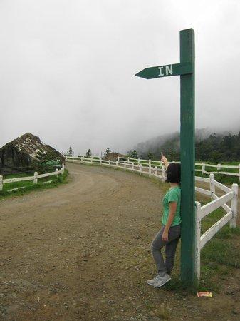 Desa Dairy Farm: Entrance to the farm