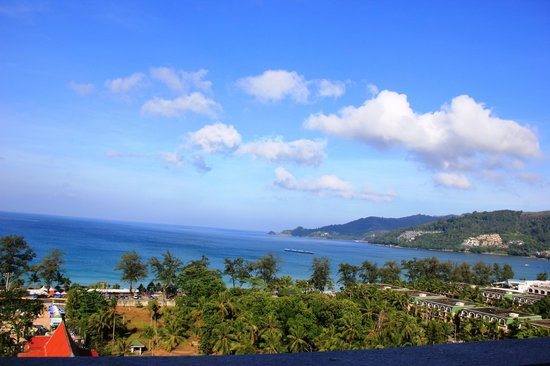 Andaman Beach Suites Hotel: View from room