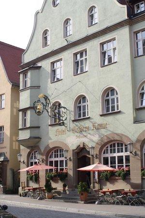 Hotel Restaurant Piazza: Goldene Kanne te Dinkelsbuhl