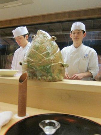 Kikunoi: Bamboo Rice