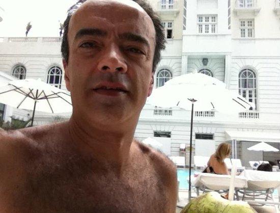 Belmond Copacabana Palace : aproveitando a piscina