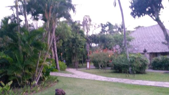 The Oberoi Bali : bungalow in the garden