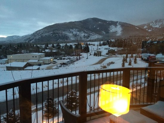 Waldorf Astoria Park City: View from suite room
