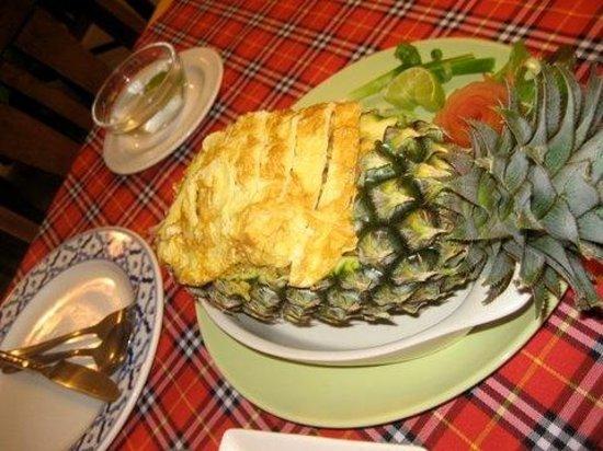 Bai Tong: Sea food pineapple rice