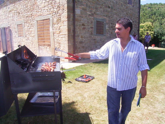 Quadro, Italien: barbecue